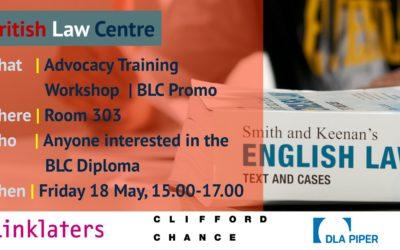 Advocacy Workshop Prague