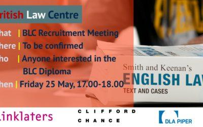 Sofia BLC Recruitment Event